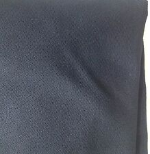 Navy blue textured Lycra fabric remnant 4-way stretch active/dancewear 392