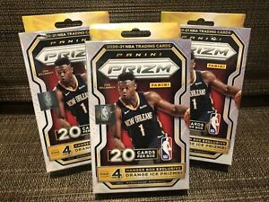 DALLAS MAVERICKS 2020-21 PRIZM NBA 3 HANGER BOX BREAK #5