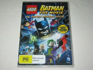 LEGO Batman The Movie - DC Super Heroes - Brand New & Sealed - Region 4 - DVD