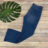 Soft Surroundings Essential Tencel Jeans Size 8 Straight Leg Stretch Soft Medium