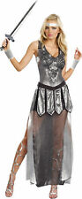 DREAMGIRL ONE HOT KNIGHT MEDIEVAL ROMAN WARRIOR ADULT HALLOWEEN COSTUME MEDIUM