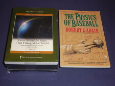 Teaching Co Great Courses DVDs      GREAT SCIENTIFIC IDEAS CHANGED WORLD + bonus