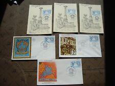 FRANCE - 3 enveloppes 3 cartes 1er jour 26/3/1977 (journee du timbre)(B14)french