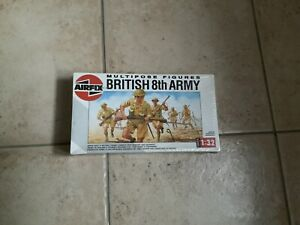 Maquette 1/32 Multipose Figures British 8th Army AirFix