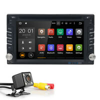 "6.2"" 2 Din Android 6.0 Car DVD GPS Player WiFi 3G Radio Stereo Sat Nav Bluetooth"
