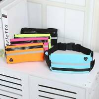 Waterproof Running Waist Belt Bag Canvas Sports Jogging Portable Phone Holder