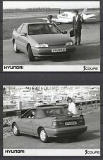 PRESS - FOTO/PHOTO/PICTURE - Hyundai Scoupe Set of 4 Photos