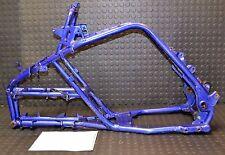 2001 Yamaha Raptor 660 Main Frame Matching Paperwork W/T BLUE 01 02 03 04 05