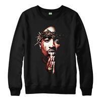 Tupac Shakur Jumper, Hip Hop American rapper 2Pac Adult & Kids Jumper Top