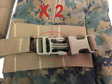 2 Replacement Buckles USMC ILBE GEN 2 Tan Male - Arcteryx Main Pack Assault Pack