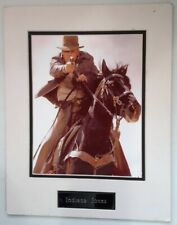Indiana Jones and the Last Crusade, Indy Riding A Horse iconic Poster 1989,frame