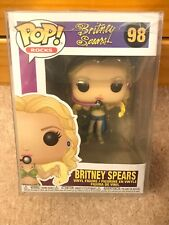 Funko Pop! Rocks Britney Spears I'm a Slave 4 U #98 In Stock With Protector