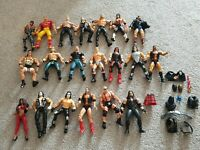 Vintage WCW Jakks Pacific Toy Biz Marvel Wrestling Figures Joblot