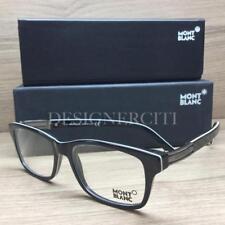 2f75fa9f30f MONT BLANC MB0383 MB 383 Eyeglasses Black White 001 Authentic 52mm