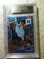 2019 Panini National Convention /99 Magnetic Fur Zion Williamson RC BGS 9.5