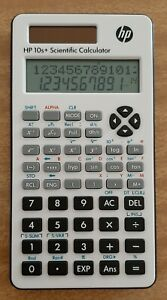 HP 10s+ Scientific Calculator working with case