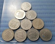 1967 Japan Year 42 Hirohito (Showa) 100 Yen (¥100) Flower Coin (Price Per Piece)