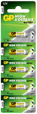 27A 12 VOLTS GP CARD OF 5 ( MN27) EXP 2021 BATTERY