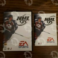 NHL 98 ( Sega Genesis ) Complete With Case & Manual Tested
