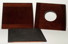 "1 LENS BOARD 7.5"" x 7.5"" for ANSCO 8 x10"" Camera, made of solid wood, free hole"