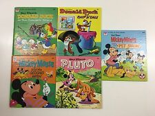 Tell-A-Tale #2454-23 & 31, 2455-31, 33 & 2456-31, Walt Disney-true 1st Edition's