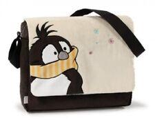 Nici 38972 Schultertasche Pinguin Plüsch 35,5 x 28 x 9,5 cm