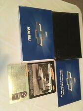 2002 02 CHEVY CHEVROLET MALIBU OWNERS MANUAL BOOKS W/case 4pc