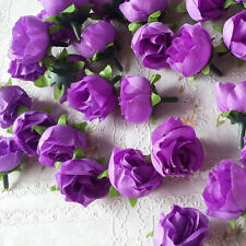 Lots 10X Artificial Flowers Silk Rose Flower Wedding Bridal Wholesale Home Decor