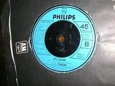 NORTHERN SOUL L J JOHNSON YOUR MAGIC PUT A SPELL ON ME/SPELLBOUND    EX