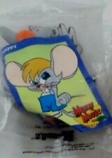 New listing Mighty Mouse Scrappy Pvc Mib Fast Food Toy & Card From Set Wendy's 1989