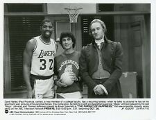PAUL PROVENZA MAGIC JOHNSON KEVIN SCANNELL PURSUIT OF HAPPINESS '87 ABC TV PHOTO