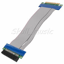 PCI-Express PCI-E 8X Extender Extension Cable Riser Adapter Card - AUST Seller.