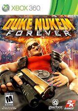 XBOX 360 Duke Nukem Forever Video Game Multiplayer Online Shooter Team Ups 1080p
