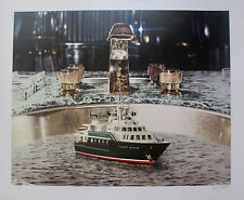 """DOUG WEBB """"Yacht in Cold Running Water"""" Hand Signed Limited Edition Silkscreen"""