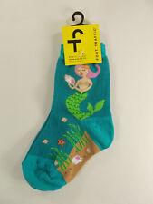 NWT Foot Traffic Kid's Casual Socks MERMAID