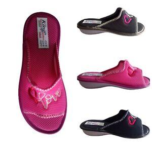 Pantofole da donna estive ciabatte casa comode pianelle 36 37 38 39 40 41 basse