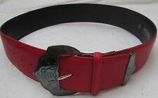 - AUTHENTIQUE  ceinture KENZO  cuir TBEG  vintage à saisir