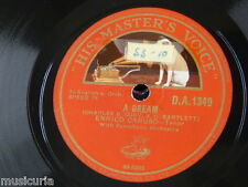 78rpm ENRICO CARUSO a dream / for you alaone
