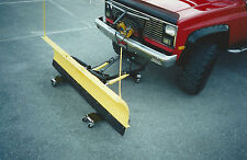 Snow Plow Dolly System. Aids installation / removal of snow plows from vehicles!