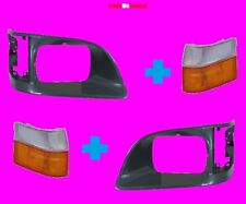 Head Lights Surround Plastic Covers Right Left Side Toyota Hiace Indicator 98-05