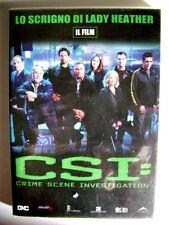 Dvd CSI: Crime Scene Investigation - Il film - Lo scrigno di Lady Heather Usato