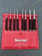 Starrett NO. S 565 SET DRIVE PIN PUNCHES