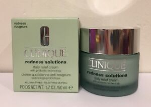 Clinique Redness Solutions Daily Relief Cream With Probiotic Technology 1.7oz