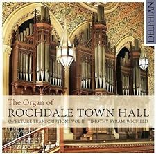 THE ORGAN OF ROCHDALE TOWN HALL: OVERTURE TRANSCRIPTIONS, VOL. 2 NEW CD