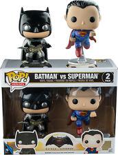 "POP! VINYL - Batman v Superman 3.75"" Metallic Vinyl Figure 2-Pack (Funko) #NEW"