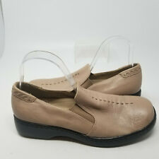 Naturalizer Brown Leather Comfort Slip On Low Walking Shoes Women Size 8.5 M