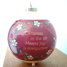 Set of 4 Vintage American Greetings John Deere Decorative Christmas Ornaments
