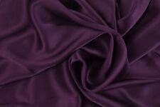 PAIR Luxury 100% Charmeuse SILK Pillowcases Housewife (Velvet Purple)