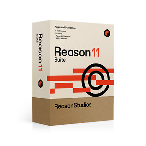 New Reason Studios Reason 11 Suite DAW Software - Upgrade from Full Reason