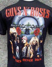 Guns N Roses - Rock Never Dies T Shirt X-Large